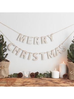 Puinen joulukoriste