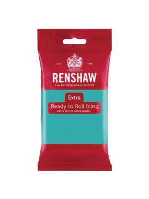 Renshaw Extra Ready to Roll Icing Jade Green - Turkoosi Jade sokerimassa, 250g.