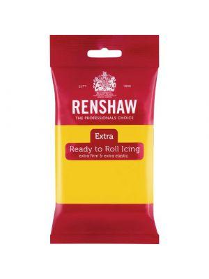 Renshaw Extra Ready to Roll Icing Yellow - Keltainen sokerimassa, 250g.