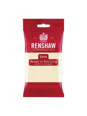 Renshaw Extra Ready to Roll Icing White Chocolate - Valkosuklaa sokerimassa, 250g.