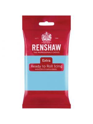 Renshaw Extra Ready to Roll Icing Baby Blue - Vaaleansininen sokerimassa, 250g.