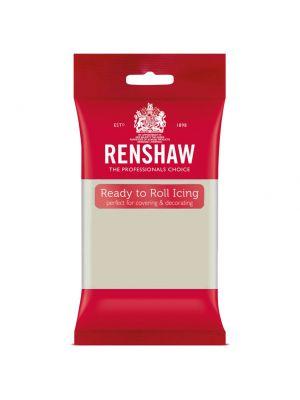 Renshaw Ready to Roll Icing Cool Grey - Vaaleanharmaa sokerimassa, 250g.