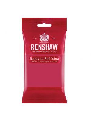 Renshaw Ready to Roll Icing Fuchsia Pink - Fuksianvärinen sokerimassa, 250g.