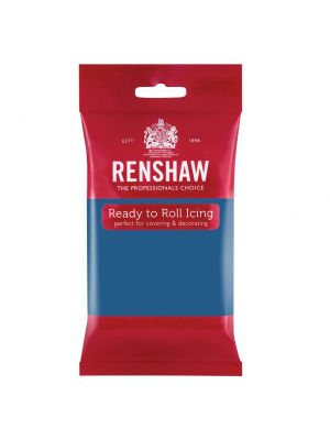 Renshaw Ready to Roll Icing Atlantic Blue - Merensininen sokerimassa, 250g.