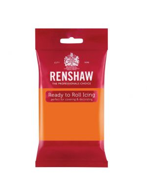 Renshaw Ready to Roll Icing Tiger Orange - Oranssinen sokerimassa, 250g.