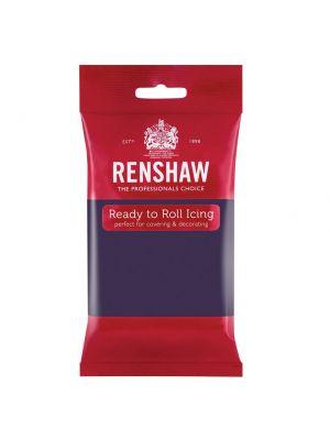 Renshaw Ready to Roll Icing Deep Purple - Violetinvärinen sokerimassa, 250g.