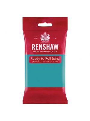 Renshaw Ready to Roll Icing Turquoise - Turkoosinsininen sokerimassa, 250g.