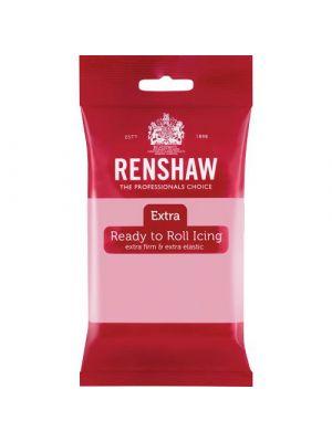 Renshaw Extra Ready to Roll Icing Pink - Vaaleanpunainen sokerimassa, 250g.