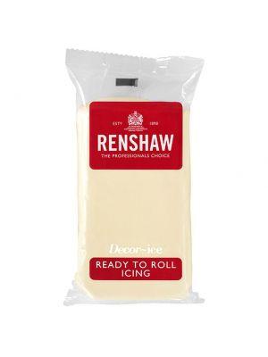 Renshaw Ready to Roll Icing White Chocolate - Valkosuklaa sokerimassa, 250g.