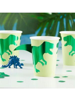 Kertakäyttömukit dinosaurus