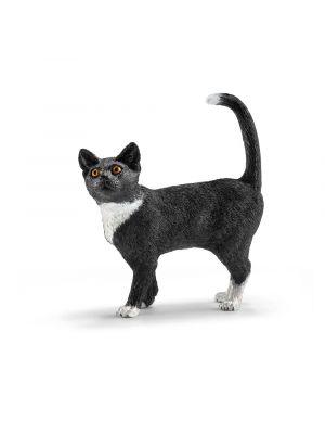 Schleich seisova musta kissa.