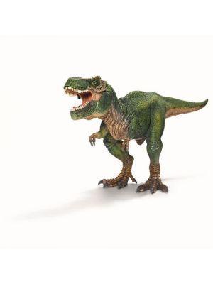 Schleich iso Tyrannosaurus Rex, jonka alaleuka voidaan avata.