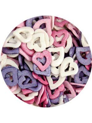 Scrumptious Glimmer Open Hearts - Syötävät avoimet sydämet.