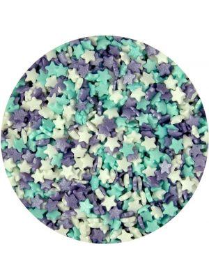 Scrumptious Glimmer Stars Ice Mix - Pienet sokeritähdet, 60g.