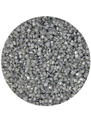 Scrumptious Glimmer Sugar Silver - Hopeinen värisokeri.