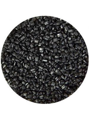 Scrumptious Glimmer Sugar Black - Musta värisokeri.