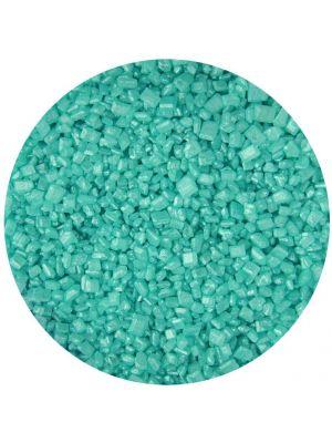 Scrumptious Glimmer Sugar Turquoise - Turkoosinvärinen värisokeri.