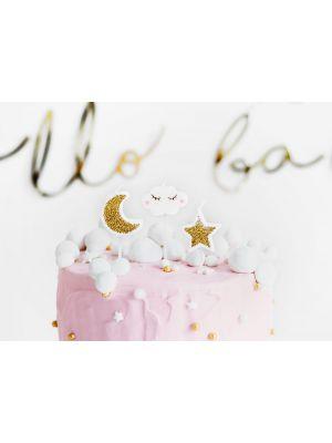 Little Star kakkukynttilät, 5 kpl.