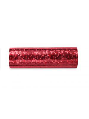 Punainen hologrammiserpentiini.