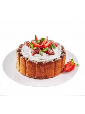 Silikoninen kakkuvuoka - Silikomart Professional Charlotte, 18 cm.