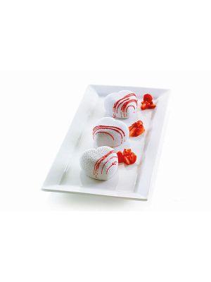 Silikonivuoka - Silikomart 3Design Cuoricino, 6,5 cm.