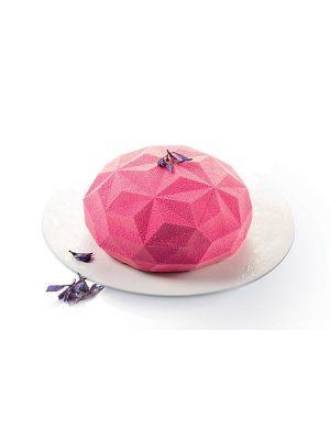 Silikoninen kakkuvuoka - Silikomart 3Design Gemma, 18cm.
