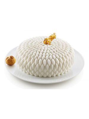 Silikoninen kakkuvuoka - Silikomart 3Design Honoré, 19,5 cm.