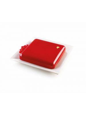 Silikoninen kakkuvuoka - Silikomart 3Design Quadro, 21 cm.