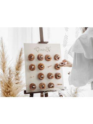 Puinen donitsiseinä, Donuts