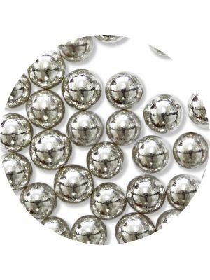 PME Silver Sugar Pearls - Hopeiset sokerihelmet, 8mm.