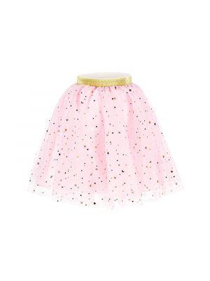 Prinsessa tyllihame, vaaleanpunainen kultaisilla tähdillä