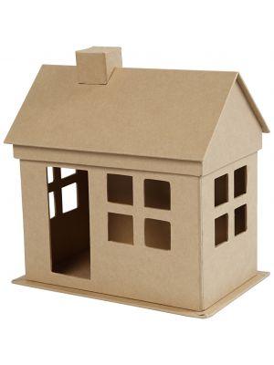 Pieni talo askarteluun. Miniatyyri.