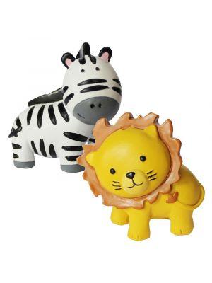 Kakkukoriste, Leijona ja Seepra, 5cm