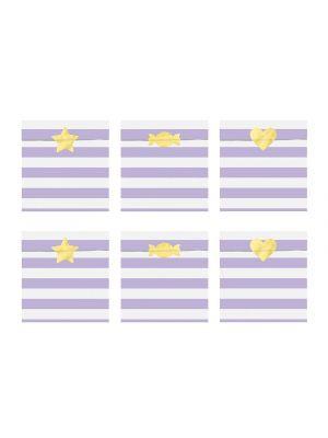 Paperipussit Violetti 6 kpl