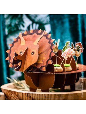 Triceratops Dinosaurus Tarjoiluteline