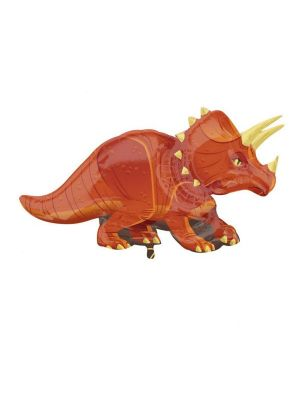 Triceratops  dinosaurus foliopallo.