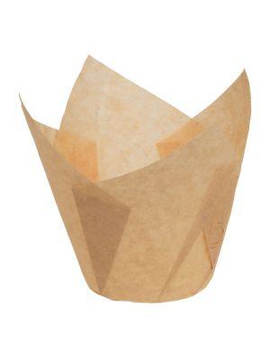 Muffinivuoat tulppaani - Kraft Luonnonruskea, 200kpl