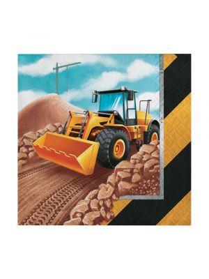 Työkone-servetit traktorilla, 16 kpl.