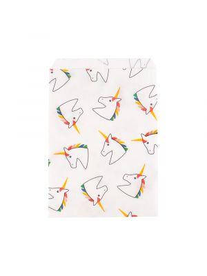 Paperiset Lahjapussit Yksisarvinen, 10kpl