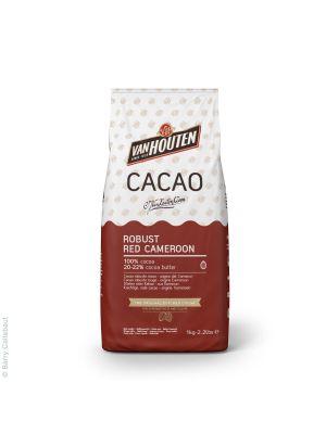 Van Houten Robust Red Cameroon - Kaakaojauhe leivontaan, 1 kg.