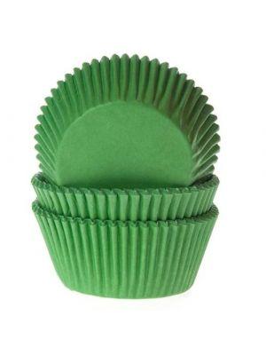 Vihreät muffinivuoat, 50 kpl.