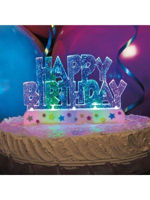 Vilkkuva Kakkukoriste,  Happy Birthday