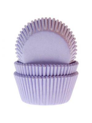 Violetinväriset muffinivuoat, 50 kpl.