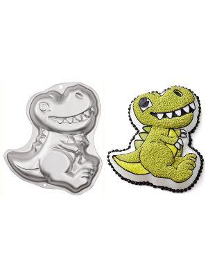 Wiltonin alumiininen dinosaurus -kakkuvuoka.