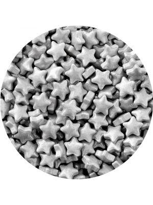 Wilton Sprinkles Silver Stars - Hopeinen tähti-strösseli.