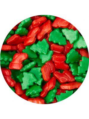 Wilton Sprinkles Holiday Mix - Jouluinen strösseli/koristerae.