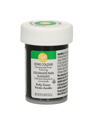 Wilton Icing Colour Kelly Green - Vihreä pastaväri, 28g.