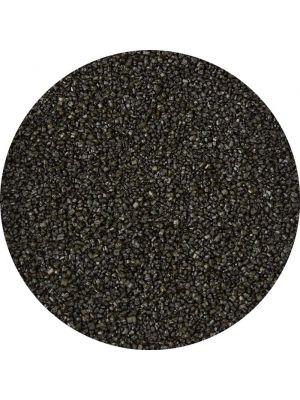 Wilton Sprinkles Black Sanding Sugar - Pienrakeinen musta värisokeri.