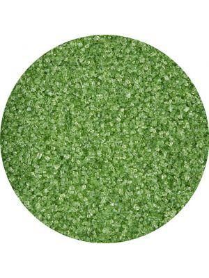 Wilton Sprinkles Green Sanding Sugar - Pienrakeinen vihreä värisokeri.
