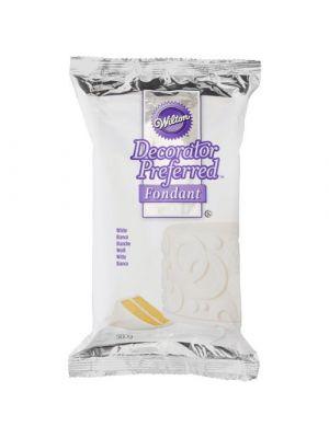 Wilton Decorator Preferred Fondant - Valkoinen sokerimassa, 500g.